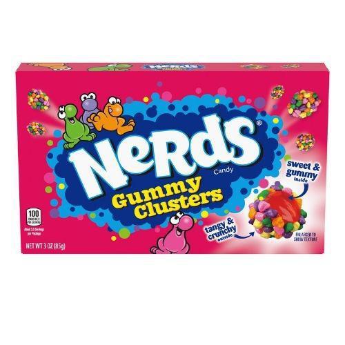 Nerds Gummy Clusters Theatre Box