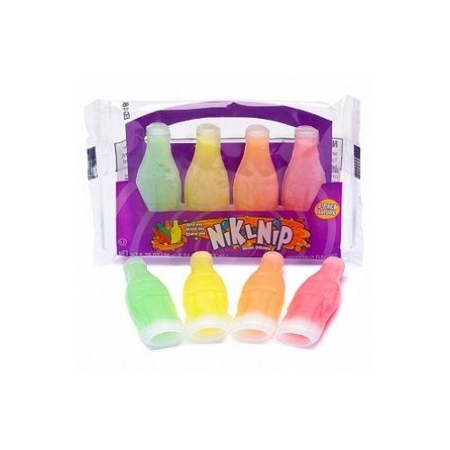 Nik-L-Nip Wax Bottles Original 4 pack