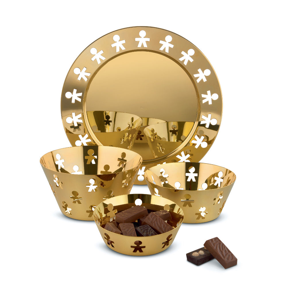 Dienblad GOLD