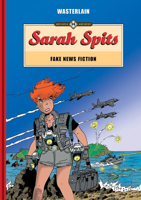 Sarah Spits - Fake news fiction