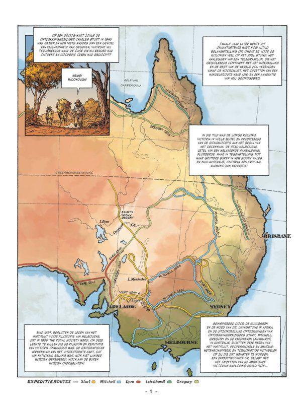 Australië 1860: De onmogelijke oversteek